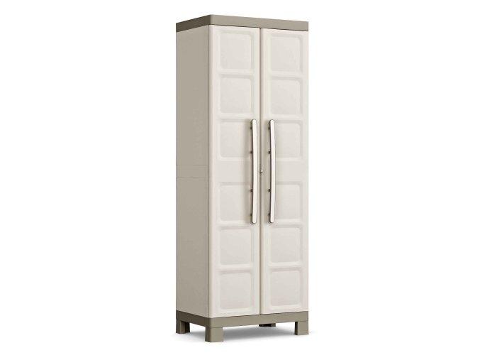 Vysoká plastová skříň Excali 182x65x45 cm