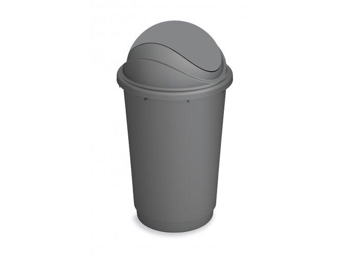odpadkovy kos vykyvne viko