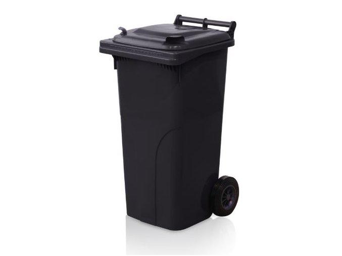 popelnice 120 l plastova cerna