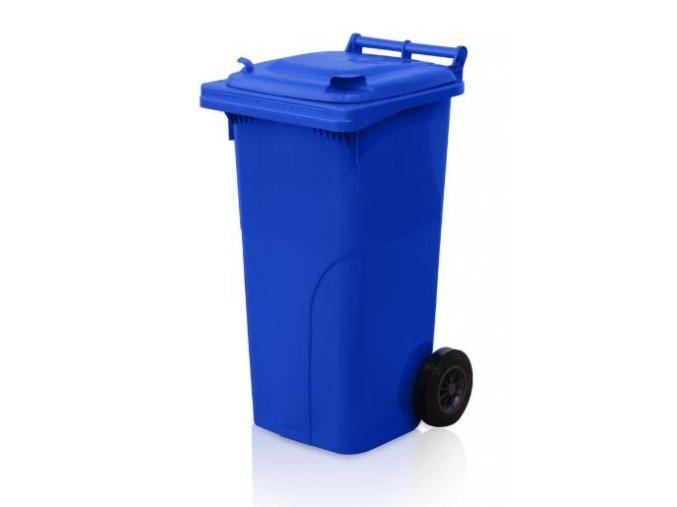 popelnice 120 l plastova modra