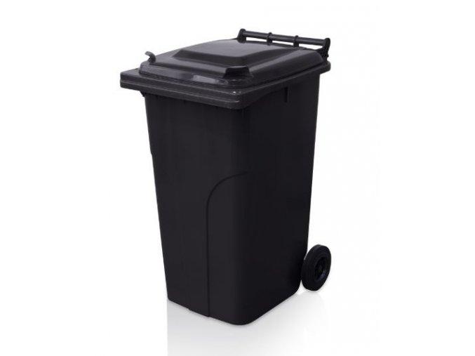 popelnice 240 l plastova cerna