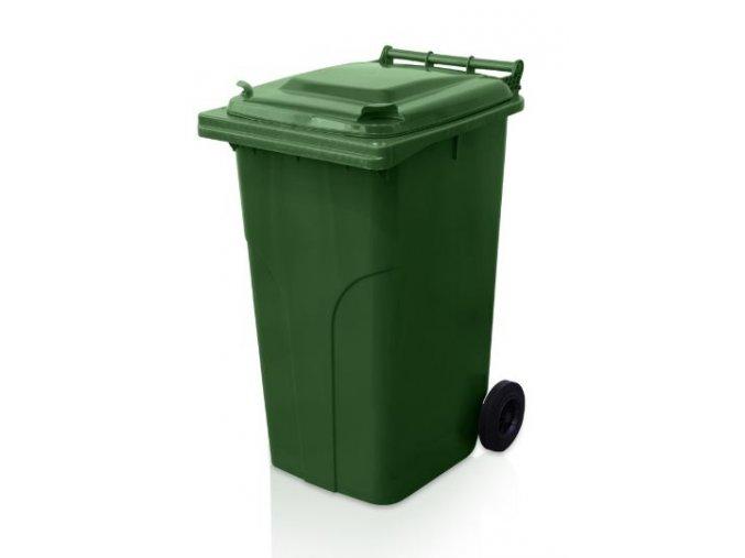 popelnice 240 l plastova zelena