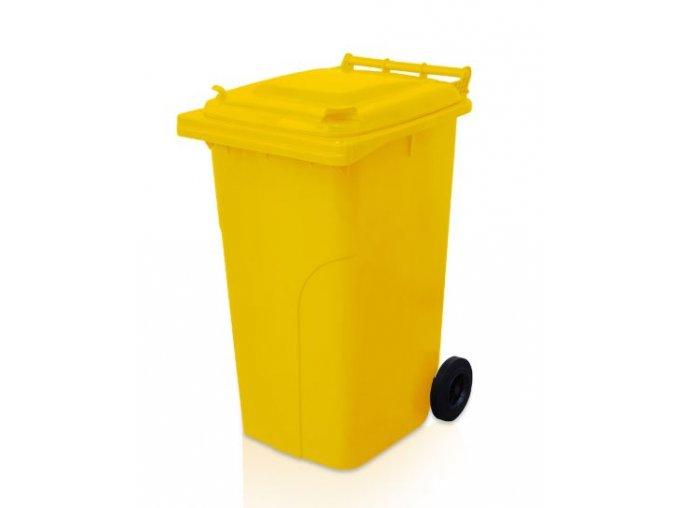popelnice 240 l plastova zluta