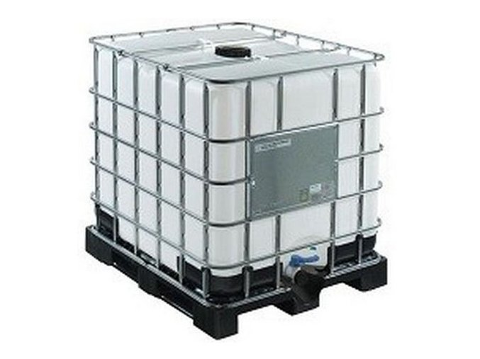 Nový IBC kontejner 1000 L UN, MAUSER, plastová paleta