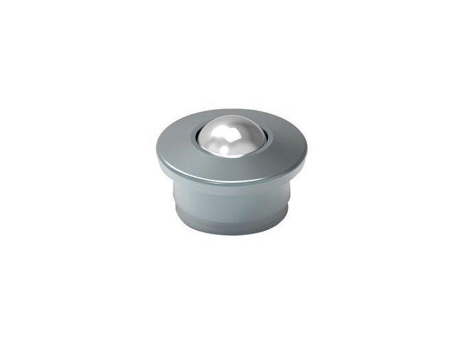 kulickova kladka s prirubou pro nasouvani prumer 15 mm 1650183b