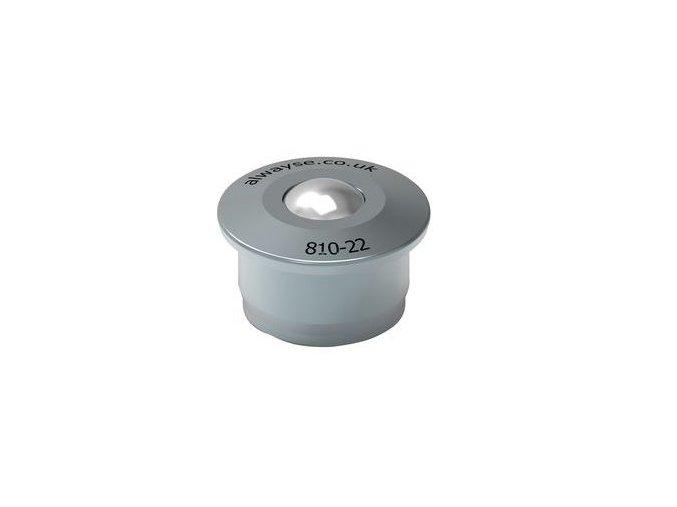 kulickova kladka s prirubou pro nasouvani prumer 22 mm 1650184a