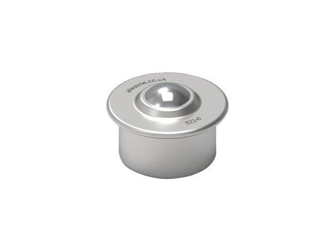 kulickova kladka s prirubou pro nasouvani prumer 22 mm 1650187b