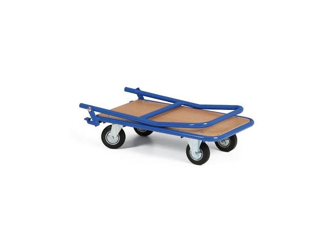 Skládací plošinový vozík, váha jen 16 kg