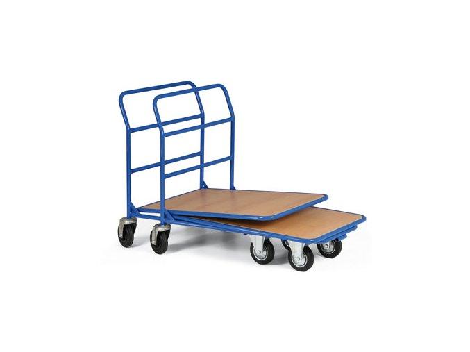 Zasouvací plošinový vozík, 350 kg
