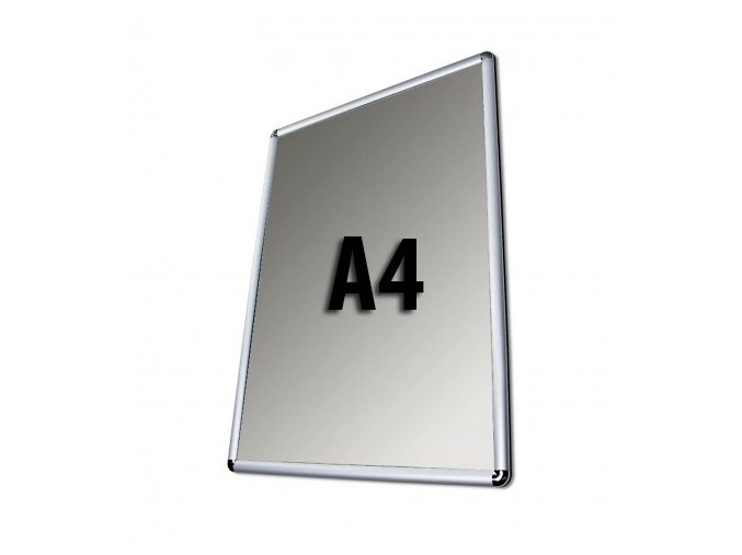 Plakátový rám, A4, kulaté rohy