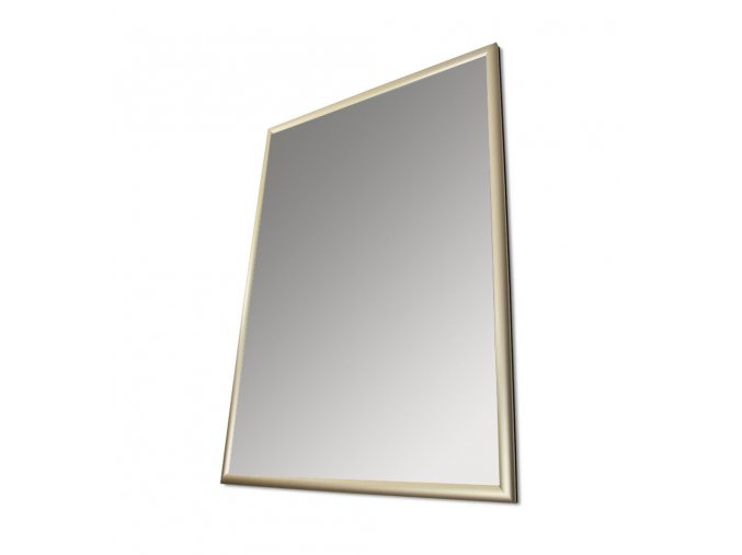 Plakátový rám, A4, zlatý elox, ostré rohy