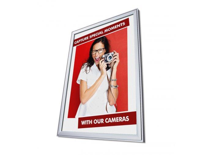 designovy plakatovy ram klapram 37mm vnitrni