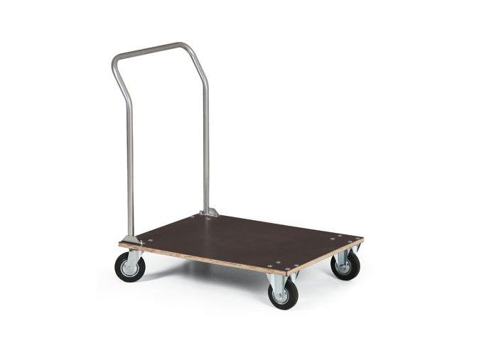 Plošinový vozík, voděodolná překližka, 100 kg