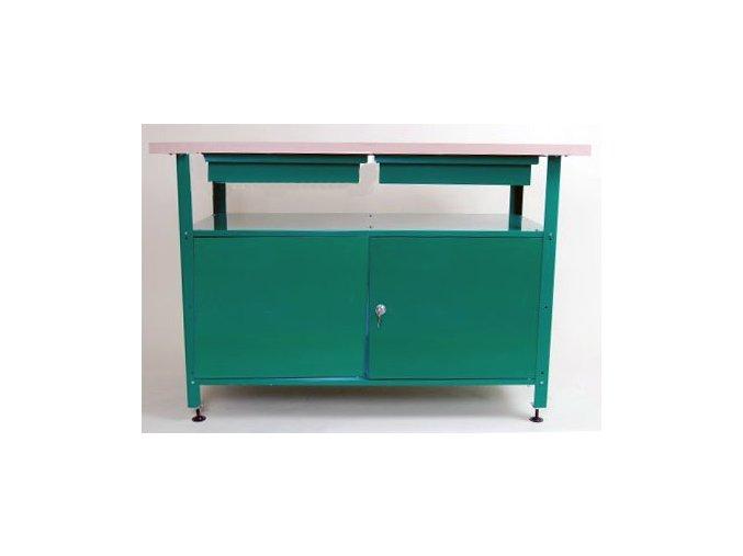 Dílenský stůl ekonomický, typ 2, 80x120x60 cm