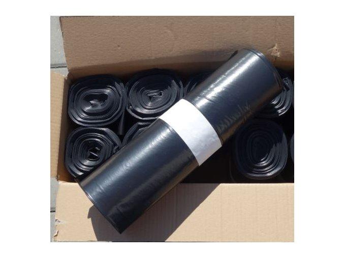 odpadkove sacky 120 l 60 my kvalita cerne