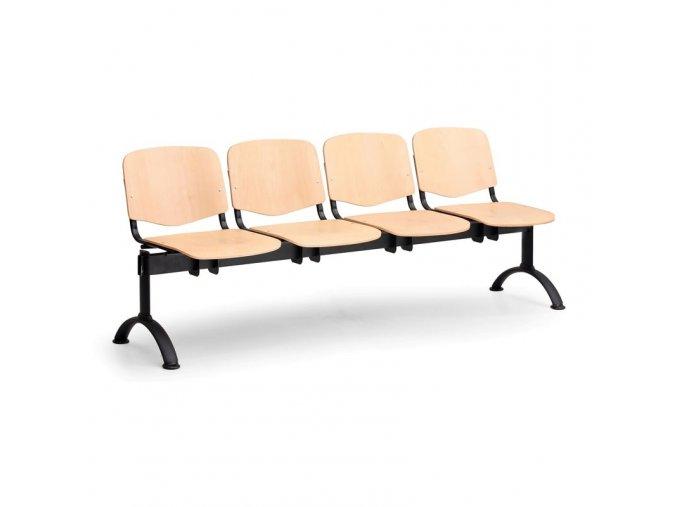 Dřevěná lavice ISO (čtyřsedák) II.