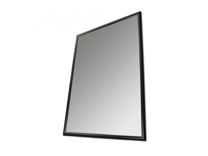 Plakátový rám, B2, černý lak, ostré rohy