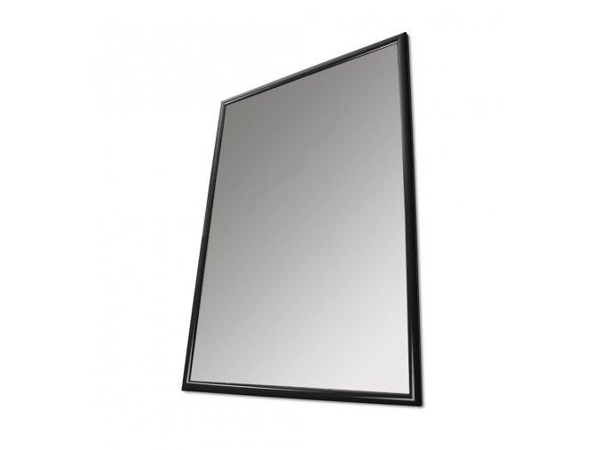 Plakátový rám, B1, černý lak, ostré rohy