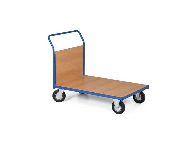 Plošinový vozík, jedno madlo plné, 300 kg