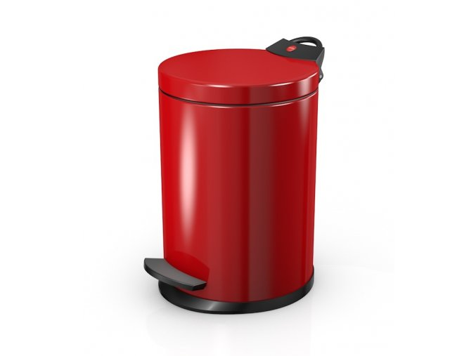 naslapny odpadkovy kos hailo t2s cerveny