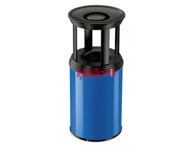 odpadkovy kos samozhaseci 30 l combi plus kovove modra