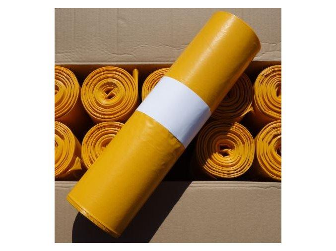 odpadkove pytle 120 l 60 my kvalita zlute