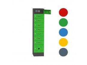 skrin na nabijeni mobilu barevne varianty s usb porty