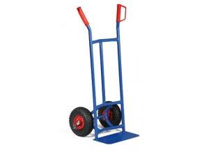Rudl ocelový úzký, 200 kg, plná kola
