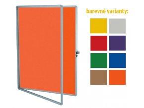 textilni vitrina interiovova barevne varianty