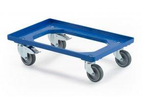 podvozek pro prepravky 2 otocna kola s brzdou 2 pevna kola