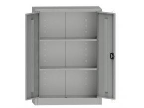 Dílenská skříň 115 x 95 x 40 cm, 2 police, 65 kg/pol.