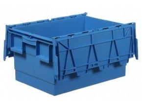 Plastový přepravní box Integra, objem 55 l