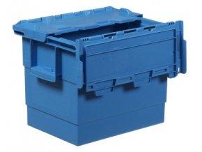 Plastový přepravní box Integra, objem 25 l