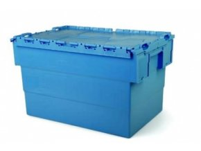 Plastový přepravní box Integra, objem 64 l