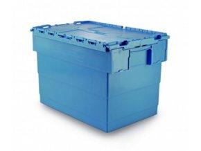 Plastový přepravní box Integra, objem 72 l