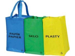 Tašky na tříděný odpad z netkané textílie