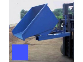 Výklopný kontejner (přepravník) 1200 litrů, var, s kohoutem, modrá