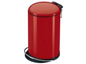 odpadkovy kos naslapny design 16 cervena b