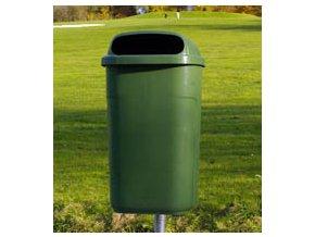 Odpadkový koš venkovní klasický 50 litrů