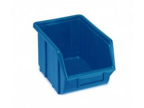 Plastová krabička 129 × 160 × 250, modrá, bal.j. 30 ks