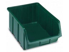 plastovy box ecobox 18 7 x 33 3 x 50 5 cm zeleny