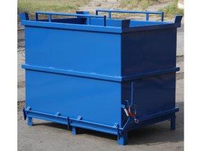 kontejner s vyklopnym dnem 2000 litru