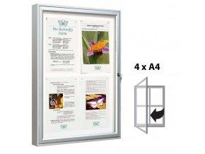vitrina hluboka elegantni 4xa4