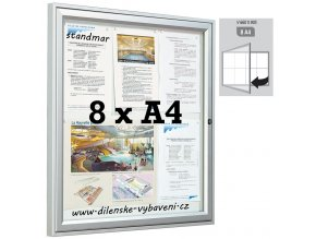venkovni vitrina houbka 30 8xa4