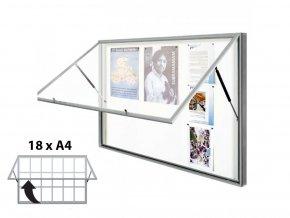 venkovni vitrina classique 750 550a