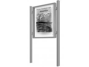 venkovni vitrina 2000 oboustranna