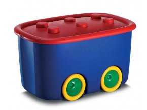 Box mobilní tmavě modrý