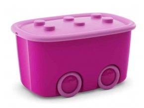 Box mobilní růžový