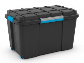 Vodotěsný box 48x44,5x73,5 černý XL