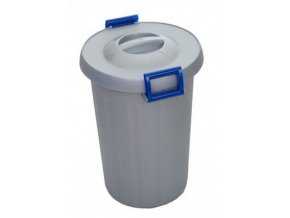 Odpadkový koš na tříděný odpad 25 litrů, modrá